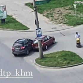 ДТП на вулиці Мирного