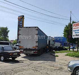 ДТП вантажівка легковик