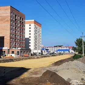 Будівництво вулиці Мельнкіова
