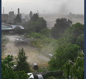 пилова буря у Хмельницькому