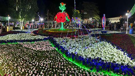 Намаган - місто квітів