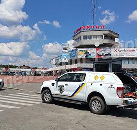 автовокзал і поліція