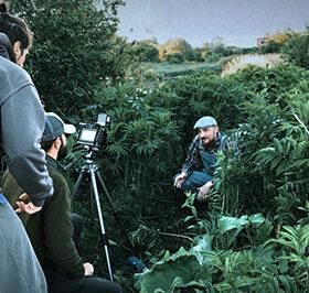 зйомки кліпу в Чорному острові
