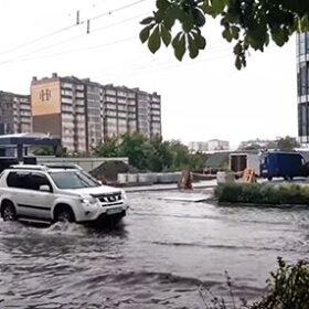 машини у воді