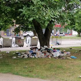 смітник біля смітника