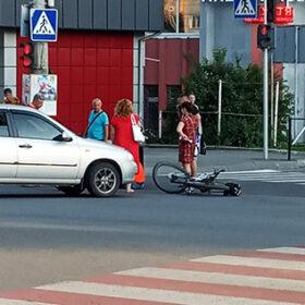 збили велосипедиста
