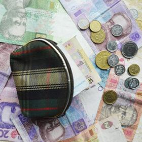 гаманець купюри монети