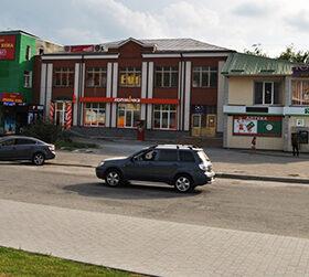 пішохідна зона у Городку
