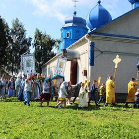 Храмове свято в селі Грицики