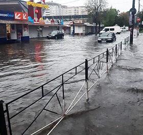 після зливи вулиця Вайсера