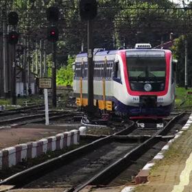 потяг Шепетівка - Кам'янець вперше прибув до Хмельницького