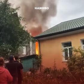 пожежа в приватному секторі