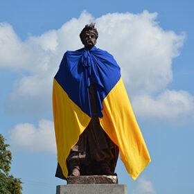 Богдан Хмельницький у прапорі