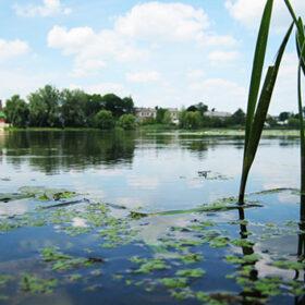 річка Утка у Славуті