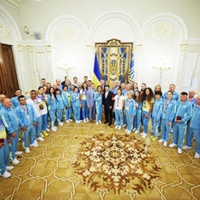 Президент України зустрівся з олімпійською збірною