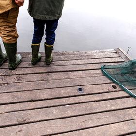 риболовля з сіткою