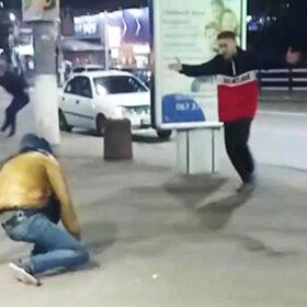 бійка у центрі міста