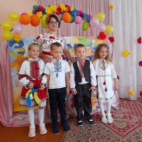 День знань у дитсадку Чорноострівської громади