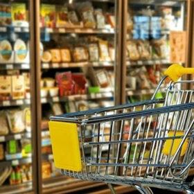 корзина в супермаркеті