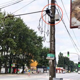 камеру відеоспостереження встановили на проспекті Миру у Хмельницькому