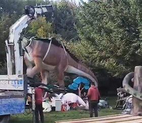парк динозаврів у Хмельницькому