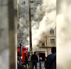 пожежа у багатоповерхівці