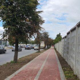 будівництво тротуару на вул. Трудовій