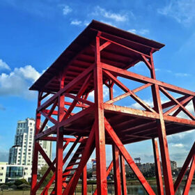 нова рятувальна вежа на хмельницькому пляжі