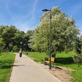 облаштування відпочинкової зони біля озера у Хмельницькому
