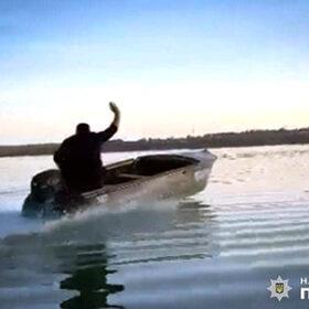 На Південному Бузі затримали нетверезого викрадача човна