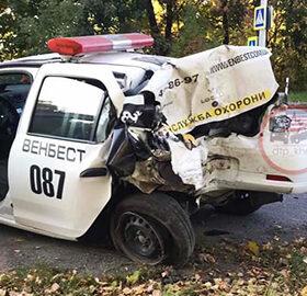 ДТП за участю авто охорони