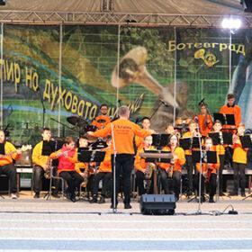 дитячий оркестр на фестивалі