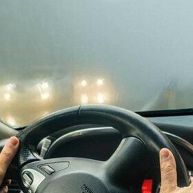 автомобіль в тумані
