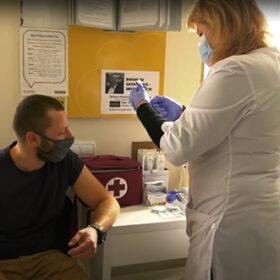 пункт вакцинації на пошті